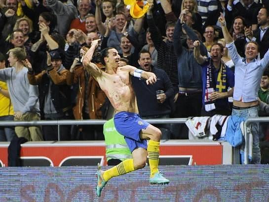 Fotbalový génius Zlatan Ibrahimovic.