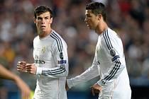 Finále Ligy mistrů: Cristiano Ronaldo a Gareth Bale