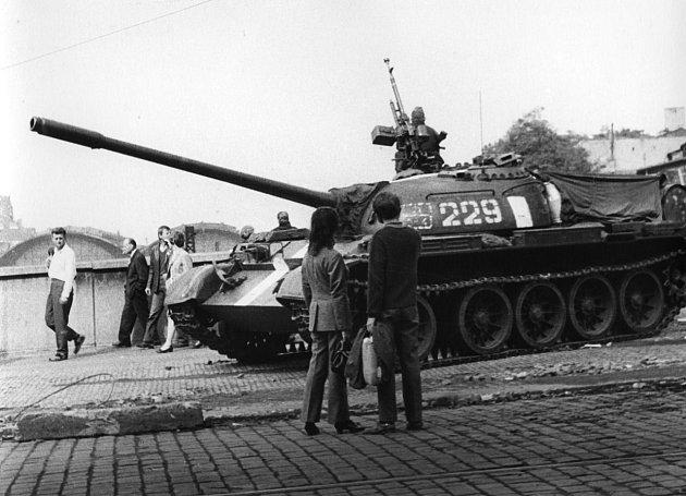 50 let od okupace v roce 1968