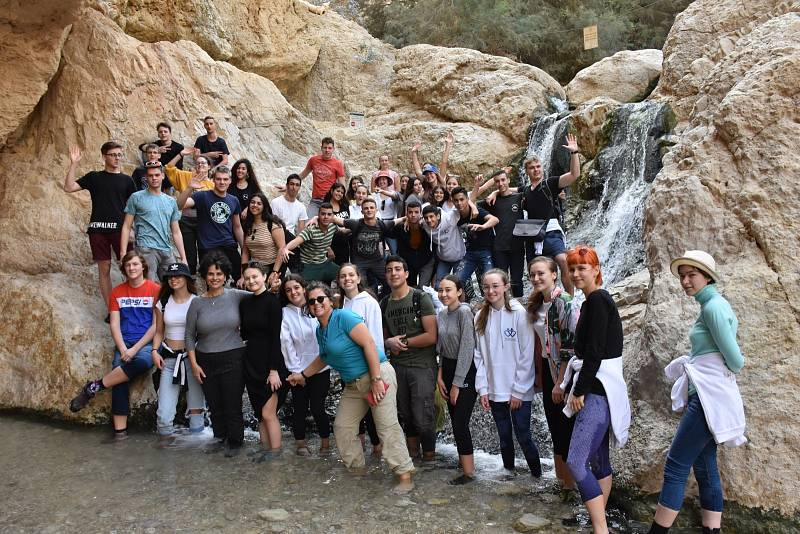 Gymnázium v Příboře - v Izraeli