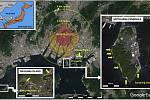 Vědci objevili v písku na plážích u Hirošimy částice, pocházející zřejmě z budov zničených jaderným výbuchem