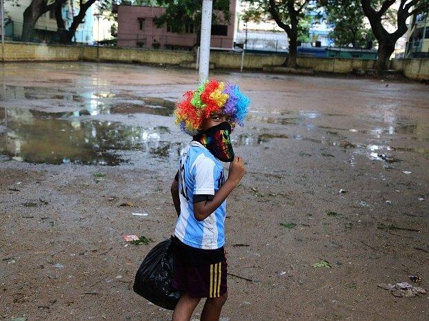 Indie zná fotbal. Během finále MS v Brazílii řada fanoušků oblékla dresy Argentiny