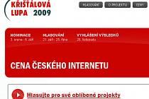 Křišťálová Lupa 2009 – Cena českého Internetu
