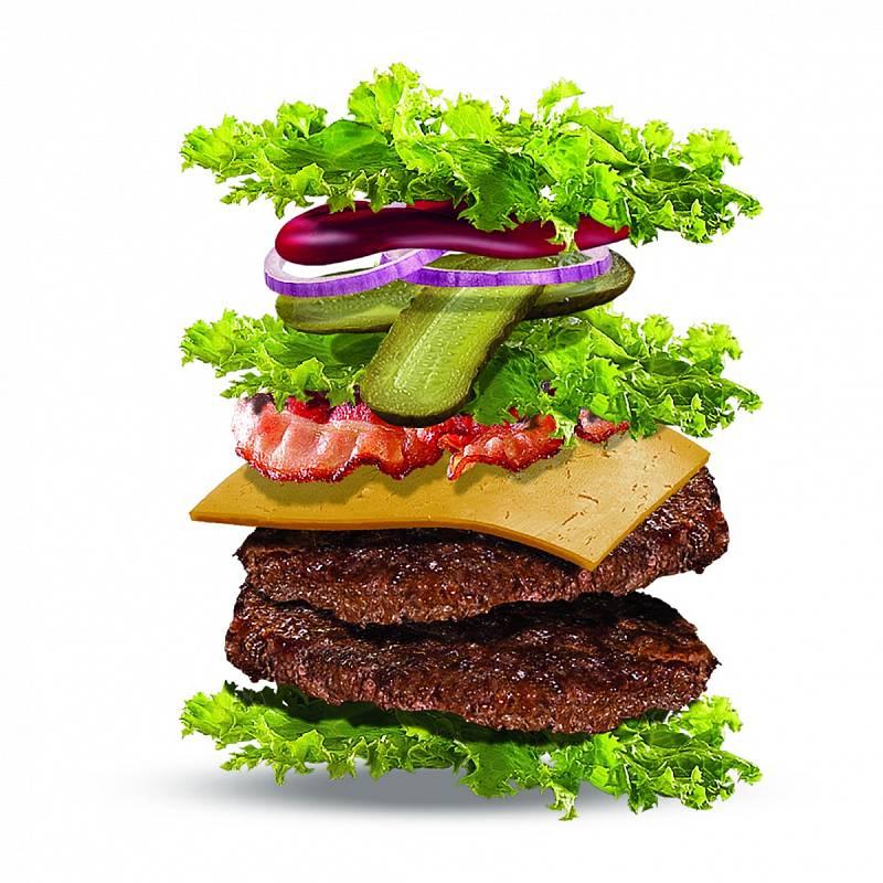Koncem roku 2018 zavedl McDonald's jako novinku i burger bez housky