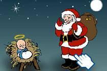 Ježíšek versus Santa Claus.