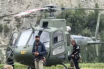 Pákistánští záchranáři. Ilustrační snímek