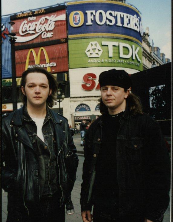 Petr Muk a kapela Shalom v Londýně