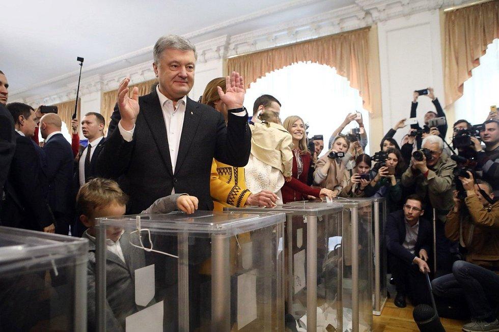 Petro Porošenko u druhého kola prezidentských voleb na Ukrajině