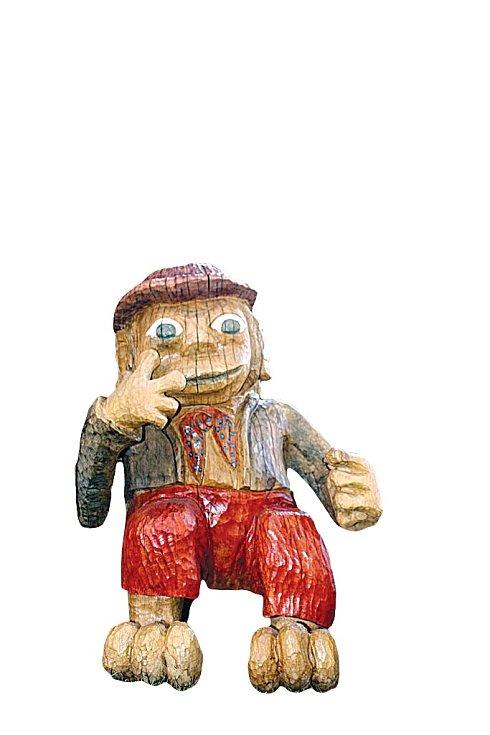 Pohádková vesnička Podlesíčko rozzáří dětské oči a fantazii.