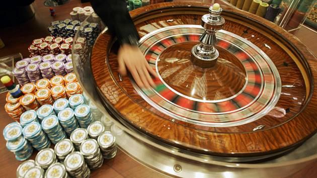 Kasino, ruleta, hazard - ilustrační foto