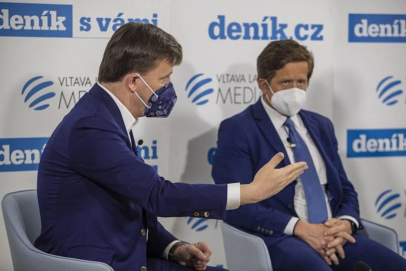 On-line debata Deníku na téma Nebezpečné silnice v Česku. Jan Matoušek, Radek Mátl