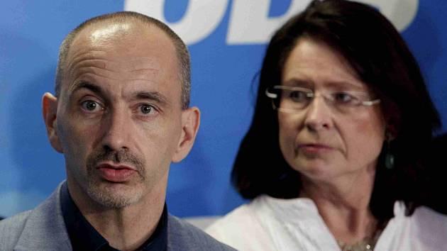 Martin Kuba a Miroslava Němcová