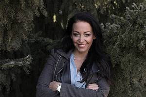 Modelka Agáta Prachařová.