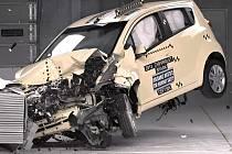 Chevrolet Spark si vedl v crash testu IIHS nejlépe.