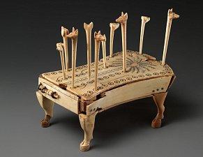 Starověká stolní hra ohaři a šakali