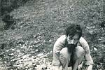Miroslav Koval v Sobotíně u Šumberka v roce 1973