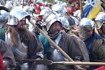 Příznivci vojenské historie se snaží věrně znázorňovat období pozdního středověku