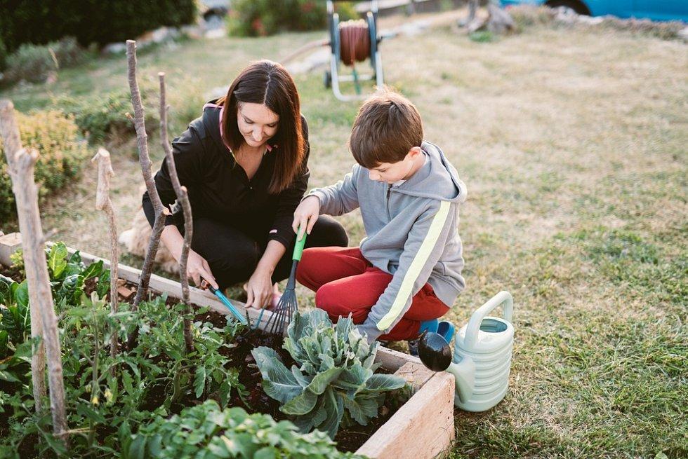 Děti vždy ocení rostliny, které se svým celkovým vzhledem nebo vzhledem svých plodů liší od těch běžně dostupných.