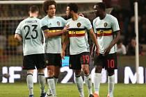 Speciální dresy. Belgie uctila oběti útoků, ale test v Portugalsku nakonec prohrála