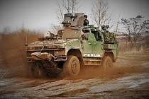 Bojové vozidlo Perun společnosti SVOS