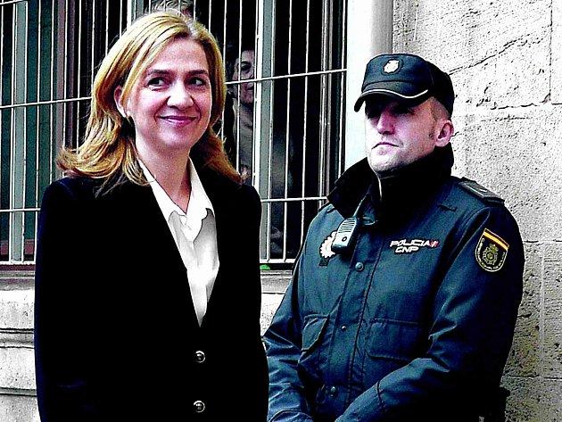 Španělská princezna Cristina.