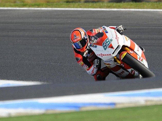 Německý motocyklista Stefan Bradl se stal mistrem světa v Moto2.