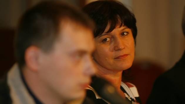 Tisková konference Demokratické strany zelených