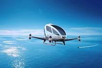 dron k přepravě lidí