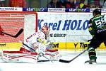 Hokejisté karlovarské Energie už prohrávali s Třincem 0:3, ale dokázali se vrátit do utkání. Nakonec urvali bod, i když se hosté v závěru hodně strachovali.