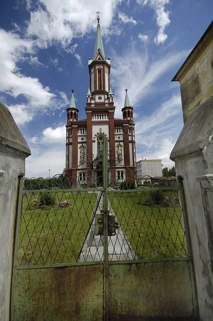 Gymnaziální kostel sv. Františka z Assissi. Vidnava