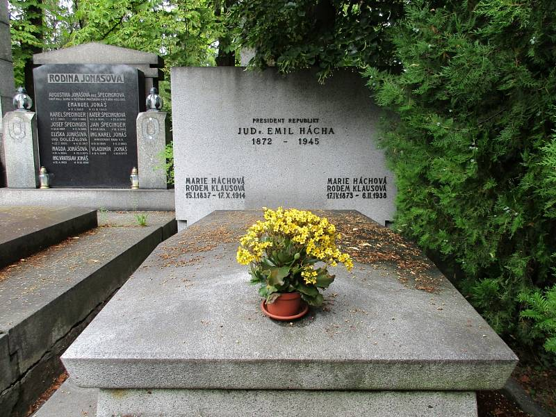 Hrob Emila Háchy