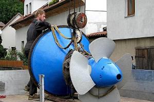 Turbínu vynalezl na počátku minulého století profesor brněnské techniky Viktor Kaplan.