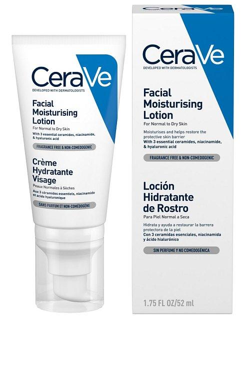 OCHRANNOU kožní bariéru dokáže dlouhodobě obnovit Hydratační péče o pleť značky CeraVe.Hydratační péče o pleť, CeraVe, 52 ml, 335 Kč