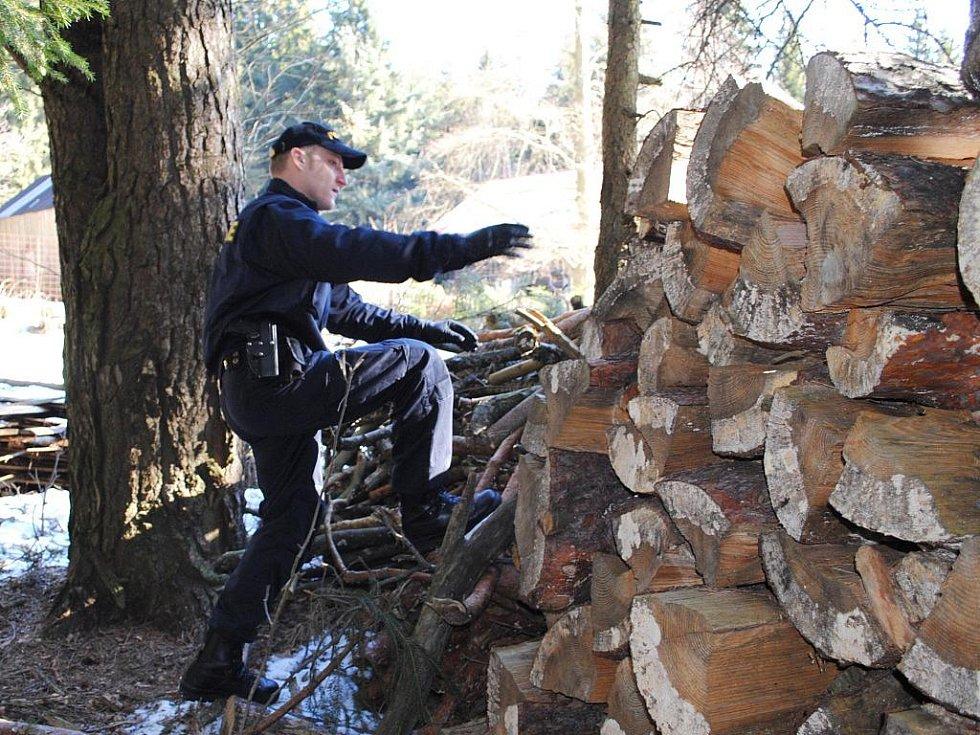 Policisté v pondělí 7. března 2011 již třetím dnem pátrali po pohřešovaném 82letém Františku Křížovi. Muž se v sobotu nevrátil z vycházky do Domova pro seniory v Lázních Kynžvartu na Chebsku. Policisté se vydali do míst u bývalé vojenské střelnice.