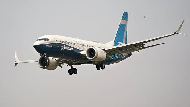 Dopravní letoun Boeing 737 MAX