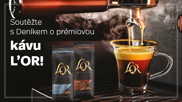 Soutěžte s Deníkem o prémiovou kávu L'OR!