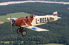 Druhá replika Marcela Sezemského – Avia BH-5