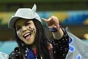 Japonská fanynka. Fotbalové MS Rusko 2018