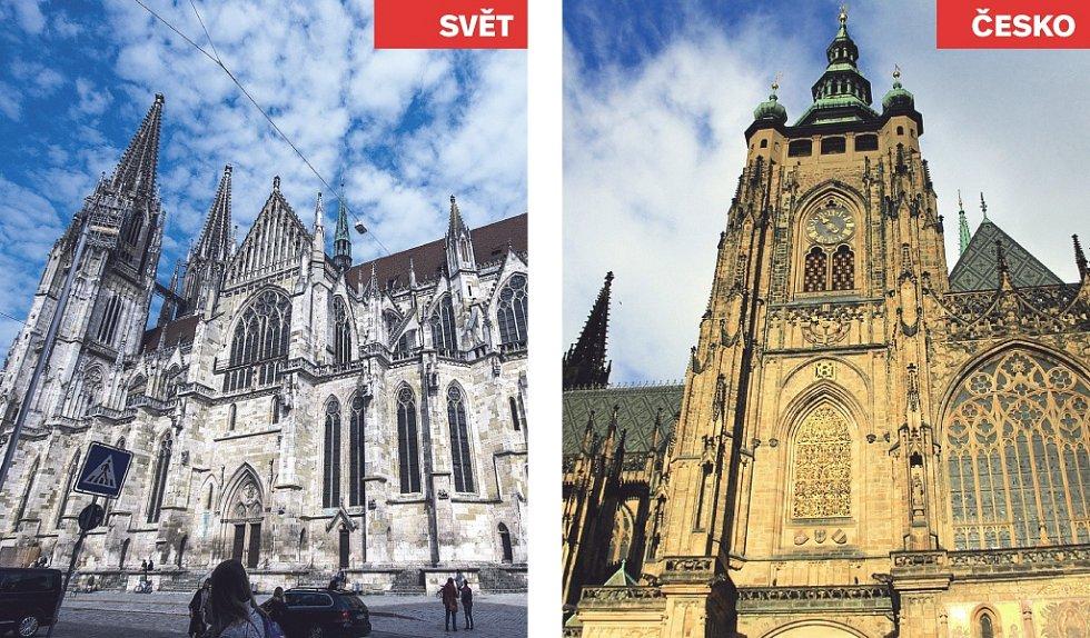 Katedrála svatého Petra (Německo) x Katedrála svatého Víta.
