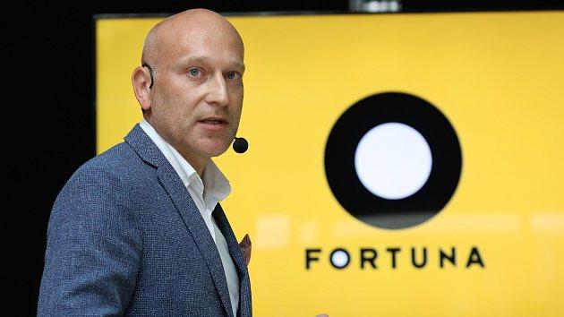 Fortuna je novým hlavním sponzorem nejvyšší fotbalové ligy. Na snímku generální ředitel Fortuny David Vaněk.