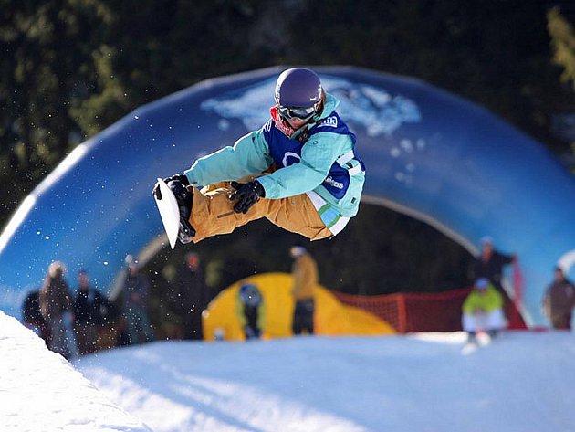 Šárka Pančochová, vycházející hvězda českého snowboardingu.