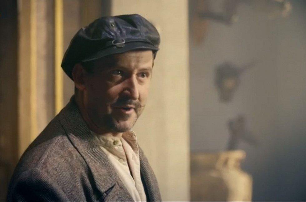 Martin Hofmann jako Franta Sauer v zábavně-vzdělávacím seriálu České televize Skautská pošta