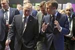 Vladimir Putin a Emmanuel Macron na setkání G20 v argentinském Buenos Aires