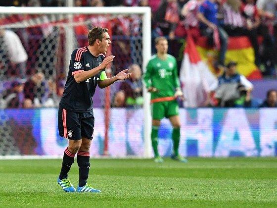 Kapitán Bayernu Philipp Lahm