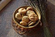 Tymiánové sušenky s parmezánem