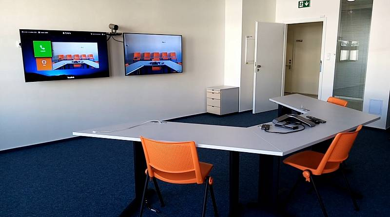 Videokonferenční místnost
