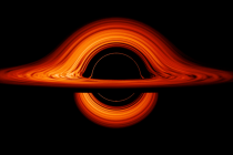 Vizualizace záhadné planety, která by mohla být černou dírou