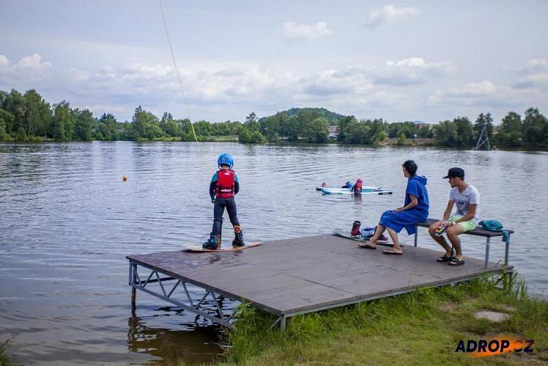 Wakeboarding - na prkně i v létě