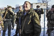 Vůdce Doněcké lidové republiky Alexandr Zacharčenko