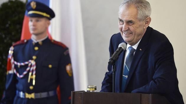 Prezident Miloš Zeman